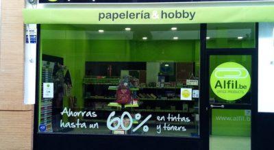 ALFIL.BE papelería & hobby - Exterior
