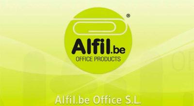 ALFIL.BE papelería & hobby - Logo